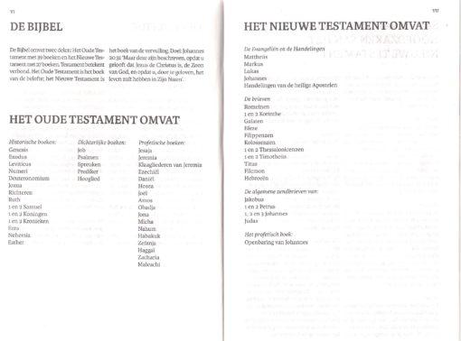 Bijbel 'De Levensbron' pag. VI en VII