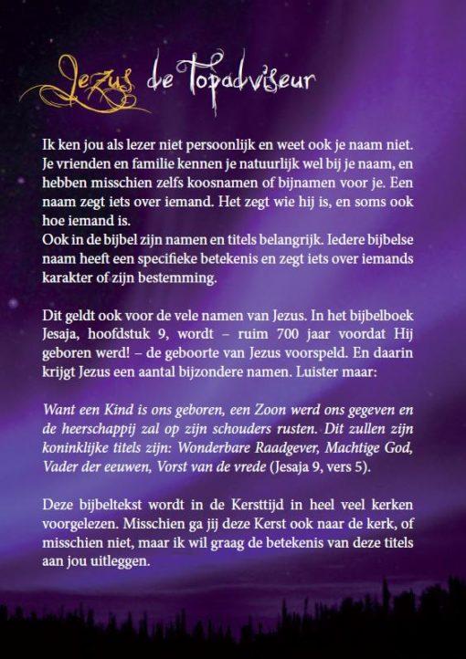 Kerst evangelisatie brochure - Ik wens je de vede van kerst toe - Derek Prince (blz 2)