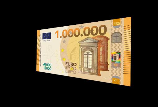 Miljoen Euro BIljet 2020 - Evangelisatie-Materiaal.nl