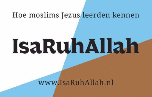 Moslims evangelisatie traktaat - IsaRuhAllah (voorkant)