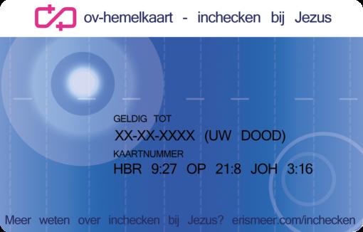 OV-HemelKaart - OV-Chipkaart Evangelisatie-Materiaal.nl