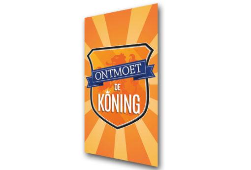 Ontmoet de Koning - Koningsdag - perspectief - Evangelisatie-Materiaal.nl