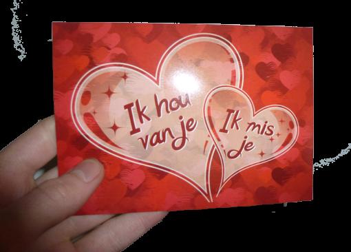 Vaders Liefdesbrief in hand Evangelisatie-Materiaal.nl